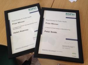 RSPH Award Winners