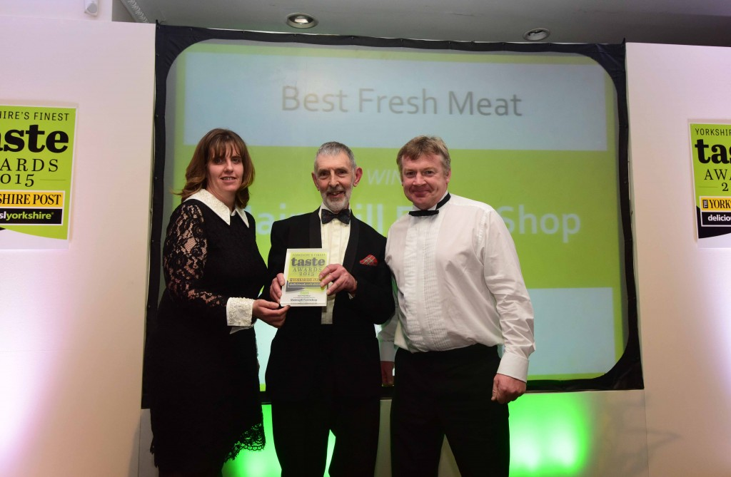The Deliciously Yorkshire-Yorkshire Post Taste Awards 2015. Best Fresh Meat sponsored by Verner Wheelock Associates was Mainsgill Farm Shop. Picture: Anthony Chappel-Ross