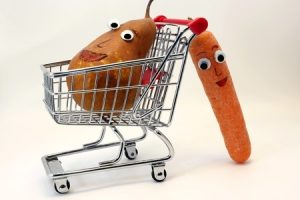 Mini shopping trolly