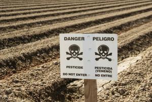 Pesticide croped