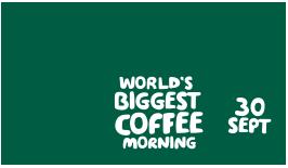 September 2016 MacMillan Coffee Morning