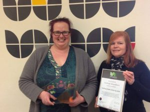 Winner of Verner Wheelock Auditing Award
