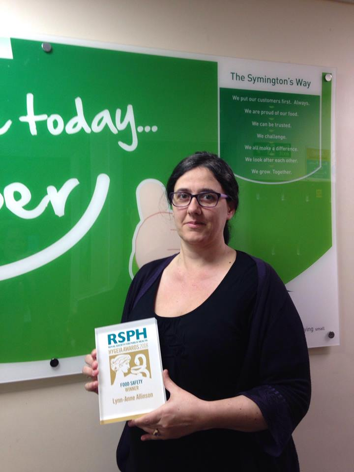 RSPH Food Safety Award winner