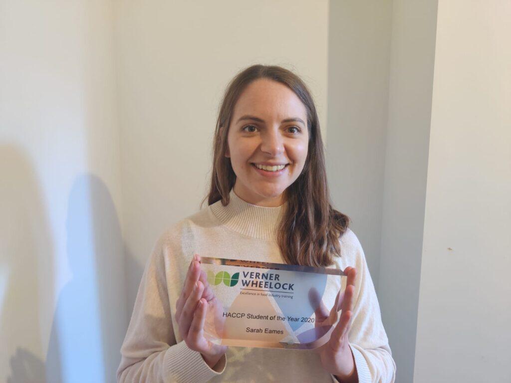 VWA HACCP Award Winner